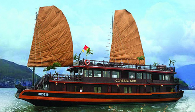 halong classic sail cruise 2 days