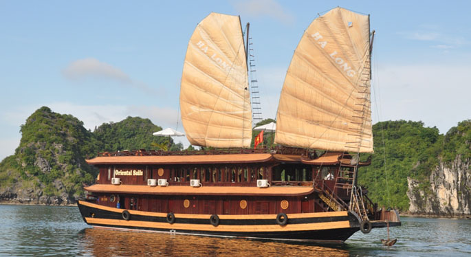 halong oriental sails cruise 3 days