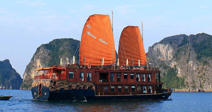 halong violet cruise 2 days