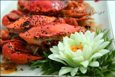 Click to enlarge: Delicious Food served in Halong Ginger